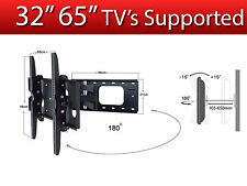 "Strong Wall Mount 32""  65"" Tilt And Swivel TV Bracket for LED LCD Plasma TV's"