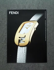 H630 - Advertising Pubblicità -2013- FENDI CHAMELEON COLLECTION