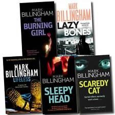 Mark Billingham Collection 5 Books Set, Tom Thorne Novel Series, Scaredy Cat, UK