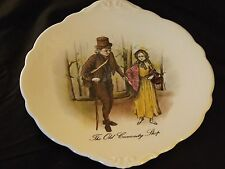 Charles Dickens Collectible Collectable Bone China Plate The Old Curiosity Shop