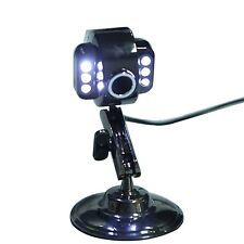 6 LED Night Vision Camera Metal USB Webcam w/ Microphone for Laptop PC