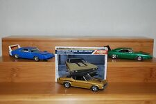 Greenlight Dodge Charger Daytona & Chevy Chevlle 1:64 Lot of 3 Loose JM 95F
