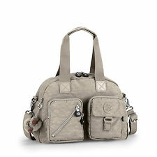 Kipling Defea Shoulder/Handbag/Cross Body WARM GREY (Beige) RRP £79