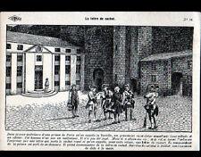 PARIS II° / LIBRAIRIE ISTRA / SOLDATS & PRISONNIER à la BASTILLE