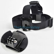 Head Strap Mount Belt Elastic Headband For GoPro GO PRO HD Hero 2/3/3+/4 Camera