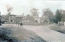 Offley Nr Hitchin sepia unused RP old postcard by Cheverton Bros