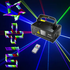 SUNY Remote DMX 3D Effect 400mW RGB Laser Show Lighting DJ Party Light Projector