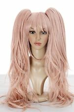 hot!New Coming ! Danganronpa Junko Enoshima Pink Cosplay Wig Party Wig
