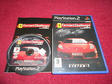 Ferrari Challenge Original Etiqueta Negra Sony Playstation 2 Ps2 Pal VGC