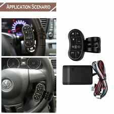 Universal Wireless Steering Wheel Button Remote Control Car DVD GPS Navi Control