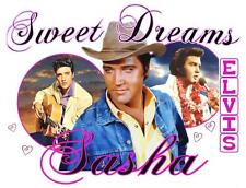 "ELVIS PRESLEY Personalized PILLOWCASE #4 ""Sweet Dreams"" Any NAME Super Soft"