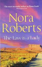 Libro NORA ROBERTS __ THE LAW IS A LADY Nuevo