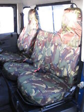 Land Rover Defender 90 110 1983-2007  DPM Tailored Camouflage Front Seat Covers