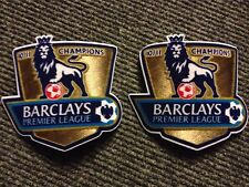 2 Barclays Premier League 10/11 Football Shirt Champions Sleeve Patches