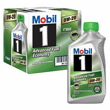 0w20 MOBIL-1 Fully Synthetic Motor Oil 6 Quarts in Case - New Stock!!
