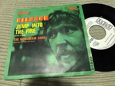 "NILSSON SPANISH 7"" SINGLE SPAIN WHITE LABEL RCA 72 JUMP INTO THE FIRE"