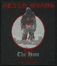 GRAND MAGUS The Hunt  Woven Sew On Patch Rock Official Merchandise