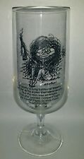 RARE COLLECTABLE COOPERS LIGHT NOVELTY BEER GLASS WITH MATCHING VINYL COASTER