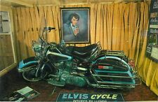 c1970 Elvis Presley's Harley Davidson Motorcycle, Murdo, South Dakota Postcard
