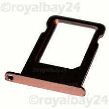 iPhone 5se ALU nano SIM slot tray Halter Schacht card holder Schlitten Rosegold