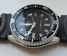 SEIKO 150M SCUBA DATE AUTOMATIC MEN'S WATCH 7002-700A, PATINA