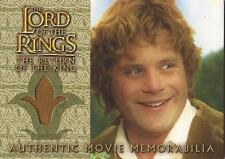 "Lord of the Rings Return of the King - ""Sam's Wedding Jacket"" Costume Card"