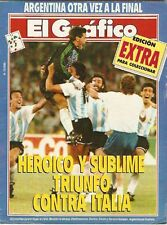 SOCCER WORLD CUP 1990 Italy Vs Argentina SPECIAL Magaz