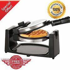Belgian Waffle Maker Commercial Double Waring Breakfast Iron Kitchen Heavy NEW!
