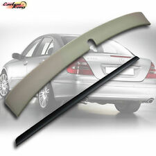 MERCEDES BENZ W211 E-CLASS ABS L Type Roof & Trunk Lip Spoiler E350 E550 02-05 ☆