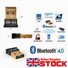 USB 2.0 Bluetooth V 4.0 Dongle Dual Mode Adapter for Win 7 8 Vista A2DP UK POST