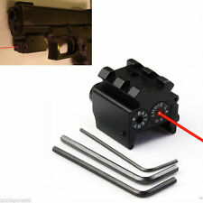 Hunting Detachable Picatinny Rail Red Laser Sight For Crossbow Rifle Gun Glock 8