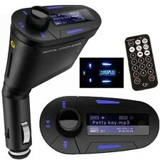 Xmas Car Kit MP3 Player FM Transmitter LCD Backlight Display Remote Control USB
