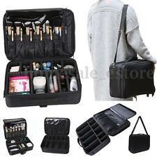 16'' Professional Large Capacity Storage Toiletries Makeup Bag Cosmetic Case New