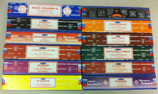 Satya Sai Nag Champa Incense Sticks Assorted Set: 12 x 15 gm = 180 gm