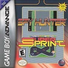 Spy Hunter/Super Sprint - Game Boy Advance GBA Game