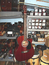 "Savannah SGO-16CE ""000"" Size Acoustic-Electric Cutaway Guitar Natural"