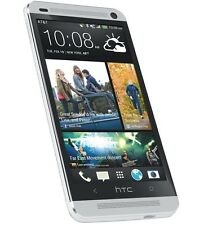 4.7'' NEW HTC One M7 32GB (Unlocked) GSM 3G Android Mobile Phone - PLATA