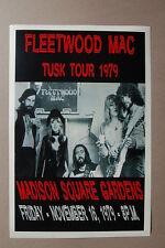 Fleetwood Mac Concert Tour Poster 1979 Madison Square Gardens