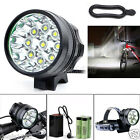 28000LM CREE XM-L T6 LED 18650 Bicycle Cycling Head Light Waterproof Bright Lamp