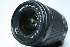 Canon EF-S 18-55mm f/3.5-5.6 STM IS Lens Near Mint from Japan