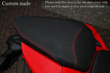 GRIP VINYL RED DS ST CUSTOM FITS DUCATI 899 1199 REAR COMFORT SEAT COVER