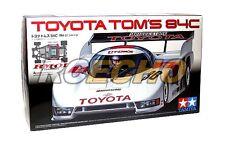Tamiya EP RC Car 1/12 TOYOTA TOMS 84C RM01 Chassis ON Road Racing Car 58509