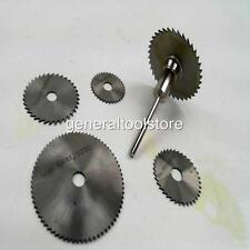 HSS HIGH SPEED STEEL CIRCULAR SAW BLADE SET FOR DREMEL TYPE TOOLS OR DRILLS