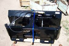 new heavy duty 5 foot 6 inch six way dozer blade  for skid steer also snow plow