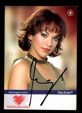 Mariangela Scelsi Verbotene Liebe Autogrammkarte Original Signiert # BC 85059