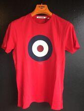 Ben Sherman Target T-shirt, Red, XS