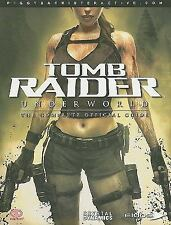 TOMB RAIDER UNDERWORLD SOFTCOVER BOOK THE COMPLETE OFFICIAL GUIDE