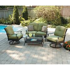 Better Homes and Gardens Providence 4-Piece Patio Conversation Set, Seats 4