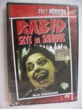 RABID SETE DI SANGUE - DVD SIGILLATO PAL - DAVID CRONENBERG - JULIE ANNA