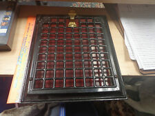 Simple Squares Wall Mount Heating Grate with Red Back Plate Excellent
